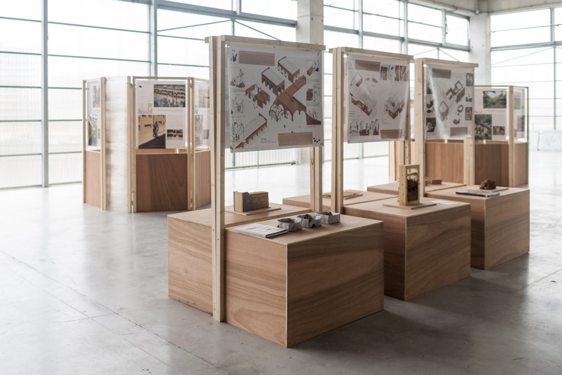 D Exhibition : Travelling exhibition terra award